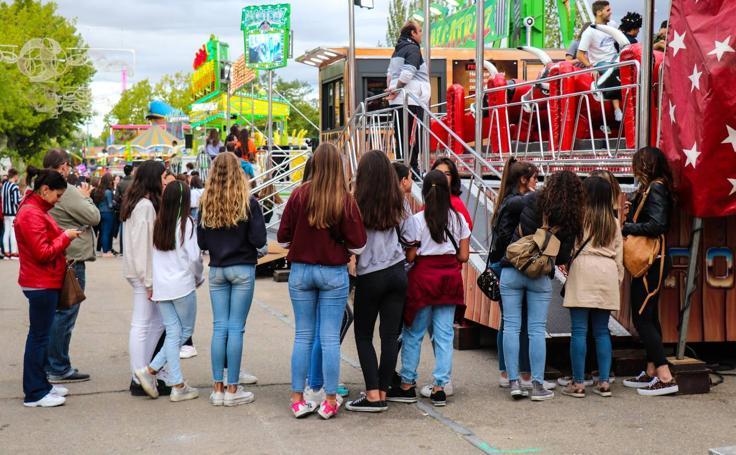 Atracciones del Real de la Feria Valladolid