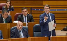 Pleno de las Cortes de Castilla y León