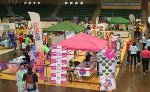 Medio centenar de clubes participarán en la feria del deporte segoviano