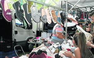 La romería del Henar contará con más de 220 puestos de venta ambulante
