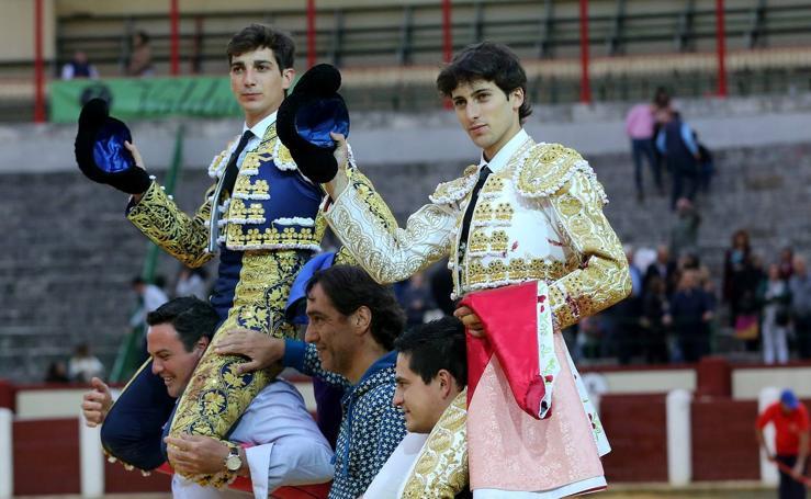 Novillada en la plaza de toros de Valladolid