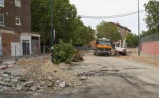 Un paso peatonal salvará durante siete meses las obras del túnel de Andrómeda de Valladolid