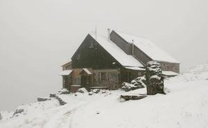 Nieve en pleno verano en León