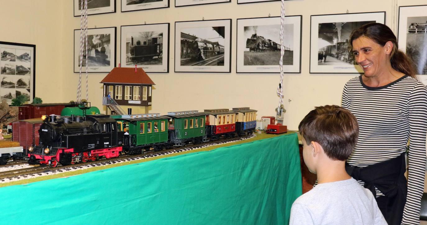Exposición ferroviaria de Asvafer