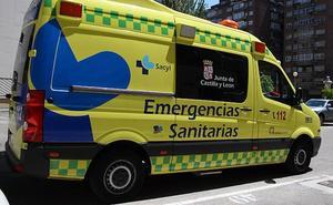 Herido un hombre de 46 años al volcar su vehículo en Cantalejo