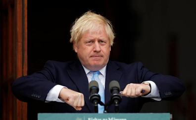 El Parlamento alza la voza Boris Johnson
