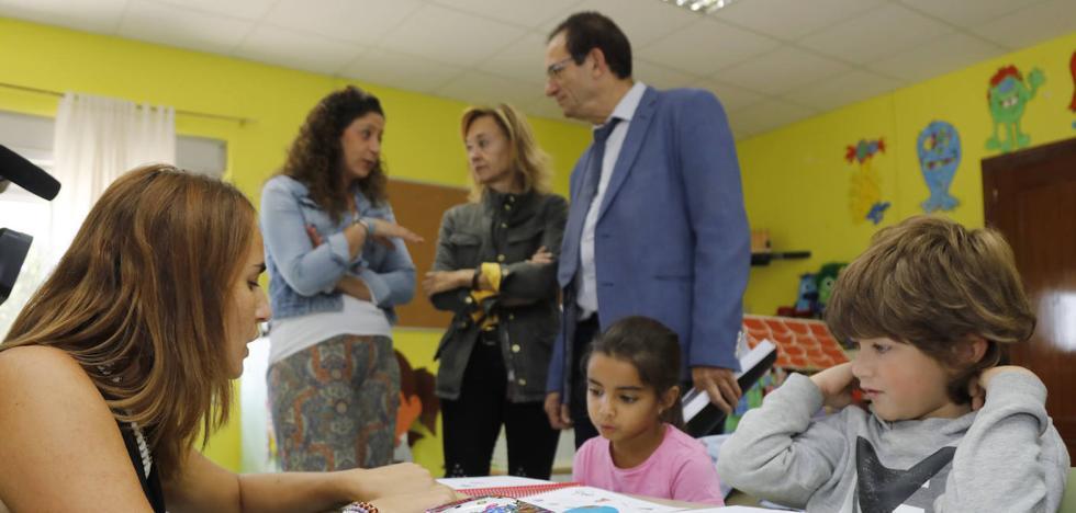 Un colegio entero en Palencia para solo tres niños