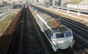 Adif licita el suministro y transporte de carril para la construcción de la Variante Este de la red ferroviaria de Valladolid