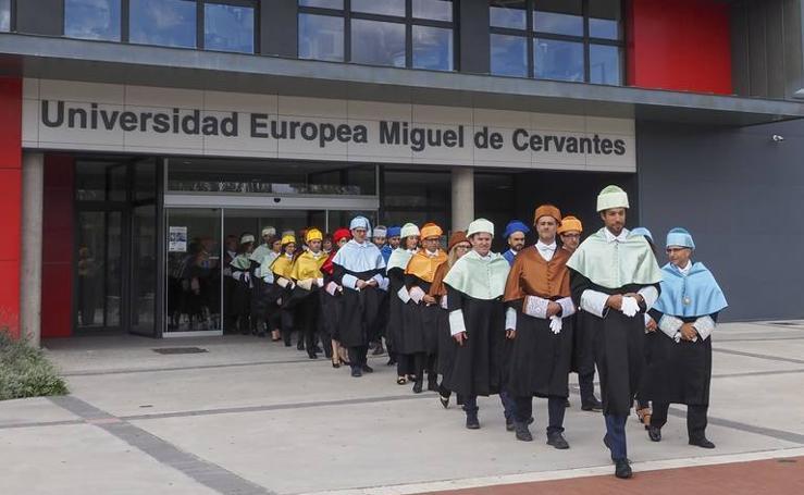 Inauguración del curso académico en la Universidad Europea Miguel de Cervantes de Valladolid
