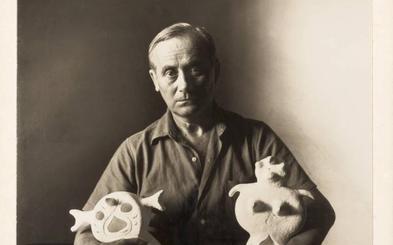 Joan Miró y su inspiración en yeso toman la Casa del Sol de Valladolid con 32 esculturas inéditas