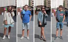 Los 'looks' de los estudiantes vallisoletanos para ir de casetas