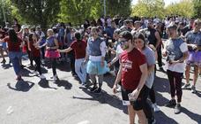 Los universitarios de Palencia disfrutan de las prohibidas novatadas