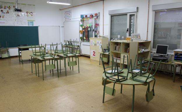 El colegio de Castrillo de Don Juan, tercero que cesa su actividad por falta de niños en Palencia
