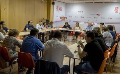Una ejecutiva tensa paraliza de nuevo la elección del portavoz del PSOE en la Diputación de Valladolid