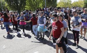 El desafío de novatos y veteranos en el campus de Palencia