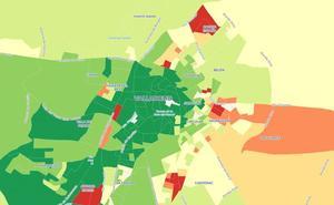 Consulta la renta de los vecinos de Valladolid, calle a calle