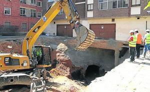 El coste de reparar el socavón de San Millán aún no está cerrado