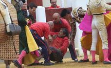 La cogida del monosabio en diez imágenes