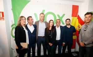 Ortega-Smith apuesta porque la sede de Vox en Salamanca sea «un enganche para los españoles valientes y sin complejos»