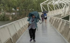 Valladolid se prepara para un domingo de tormentas