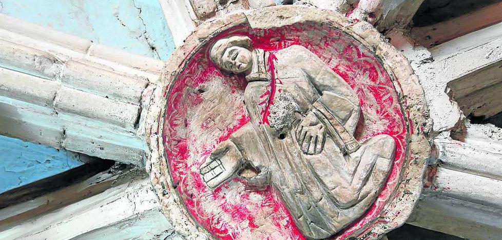 Las obras sacan a la luz decenas de tesoros ocultos de la catedral de Palencia