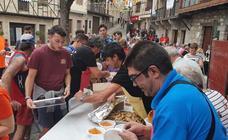Comida solidaria en San Esteban de la Sierra