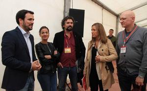 Alberto Garzón, en La Granja: «Si Pedro Sánchez quiere un acuerdo, lo habrá»