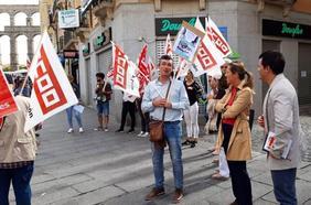Los trabajadores de Douglas suspenden las movilizaciones al llegar a un preacuerdo con la empresa