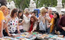 Intercambio de libros pasado por agua en Valladolid