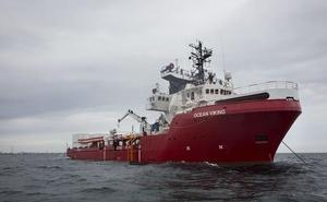 Italia autoriza el desembarco en Lampedusa de los 82 migrantes a bordo del 'Ocean Viking'