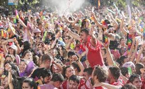 Las otras fiestas de Valladolid: un parto en las casetas regionales y 250 toneladas diarias de basura