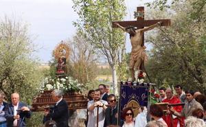 El deán de la Catedral preside la fiesta del Cristo de Castilviejo en Medina de Rioseco