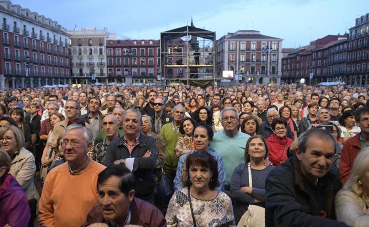 Seis mil personas celebran en Valladolid los 50 años de Nuevo Mester de Juglaría
