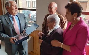 La abuela de la localidad vallisoletana de Moral de la Reina regresa a casa a los cien años