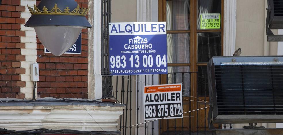 Los bajos salarios estimulan el alquiler y lo convierten en la inversión más rentable en Valladolid