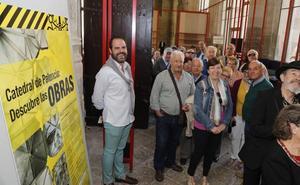 Un millar de personas han visitado las obras de la catedral de Palencia en tan solo un mes y medio