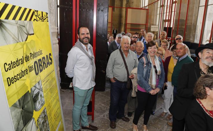 Mil visitantes respaldan las obras de la catedral de Palencia