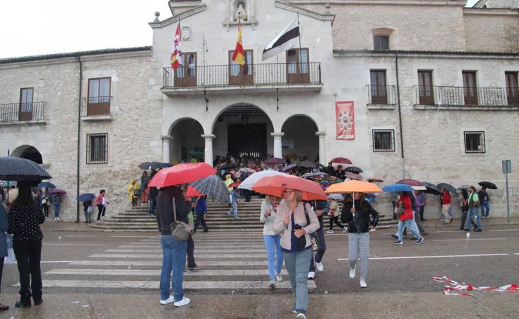 La lluvia suspende la Romería de la Virgen del Henar