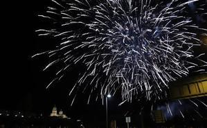 Nueva sesión de pirotecnia para cerrar las Ferias y Fiestas de Salamanca