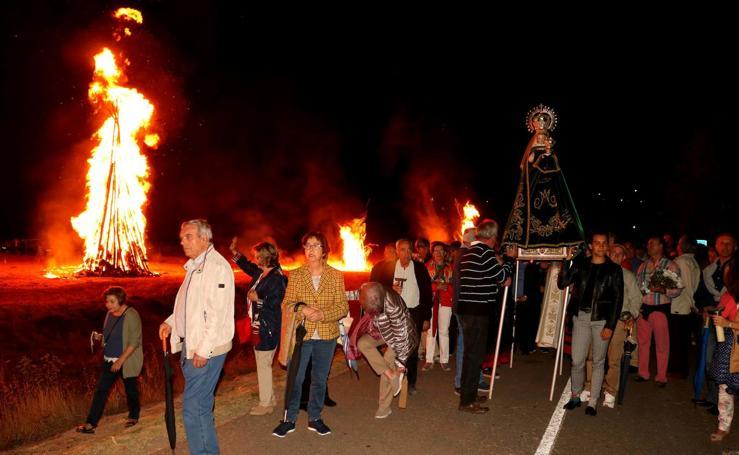 Procesión de las Hogueras en Palenzuela