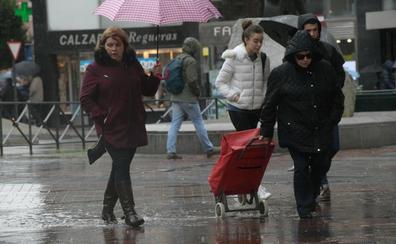 La Aemet avisa de que podrían caer 20 litros por metro cuadrado en una hora en Valladolid