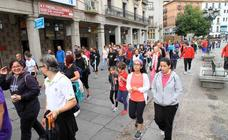 Marcha Popular Segovia con la sierra de Guadarrama