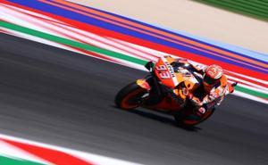 Márquez, a remontar en territorio Yamaha