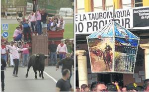 La panda El Traste gana de nuevo el concurso de faroles de Tordesillas