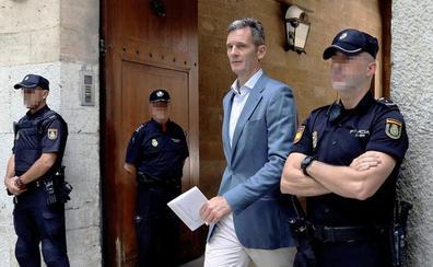 Urdangarin saldrá de prisión dos días por semana para realizar trabajo voluntario en Madrid
