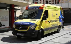 Un hombre de 44 años resulta herido tras el vuelco de un turismo en Bustillo del Páramo