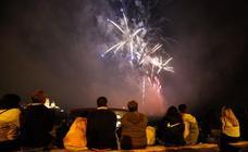 Los fuegos artificiales despiden las fiestas de Salamanca
