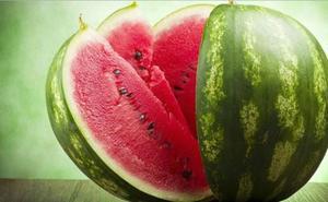 La sandía, una fruta enorme