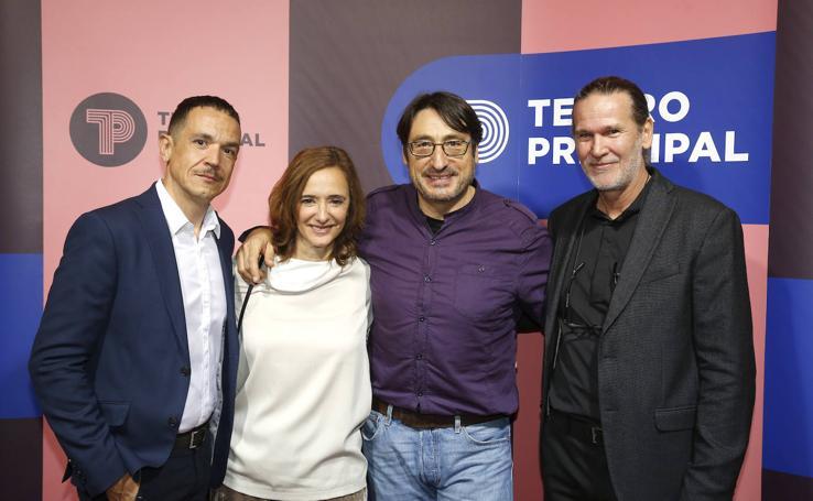 Inauguración del festival de teatro Palencia