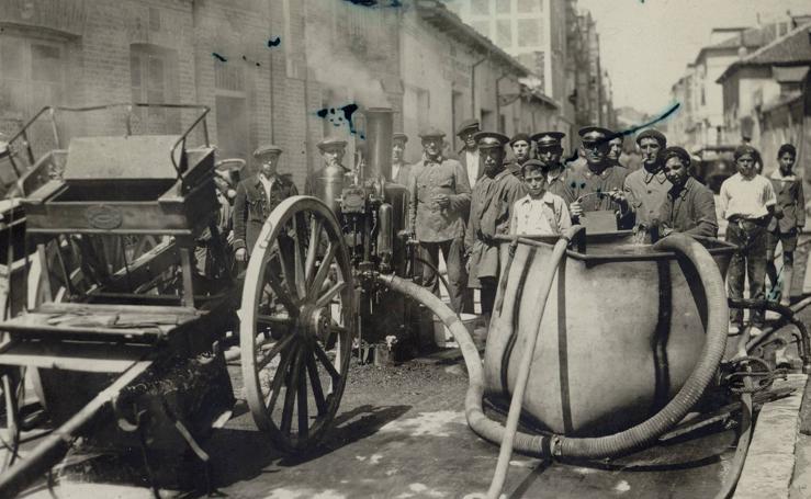 Estampas del Valladolid antiguo (XVIII): los servicios municipales a principios del siglo XX